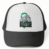 Bipolar Fighting Bulldog Trucker Hat