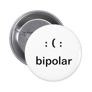 Bipolar Pinback Button