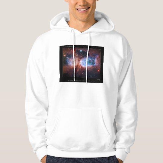 Bipolar Star Forming Region Sharpless 2-106 Nebula Hoodie