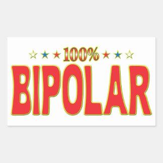 Bipolar Star Tag Stickers