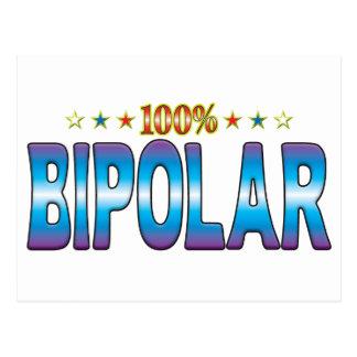 Bipolar Star Tag v2 Post Card
