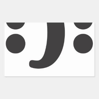 Bipolar Rectangle Sticker