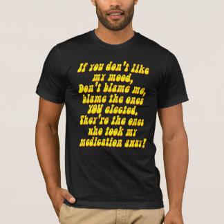 Bipolar Syndrome Depression Medicine T-Shirt
