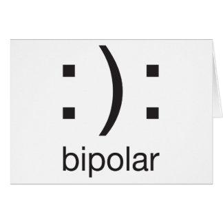 Bipolar Tarjeta De Felicitación