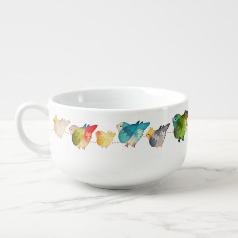 Birb Underfluffies Soup Mug