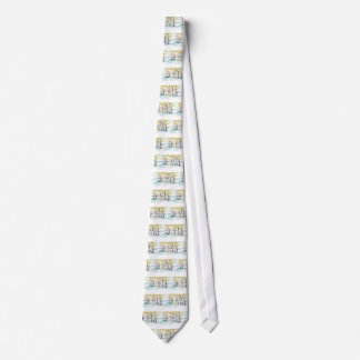 Birch and bunny tie