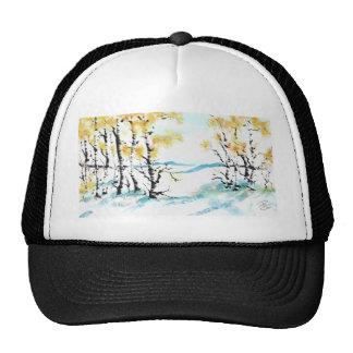 Birch and bunny trucker hat
