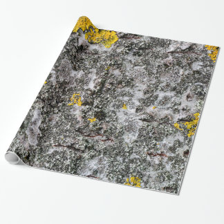Birch and Lichen Wrapping Paper