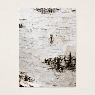 Birch bark 2330 business card