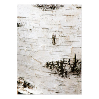 Birch bark 2330 large business card
