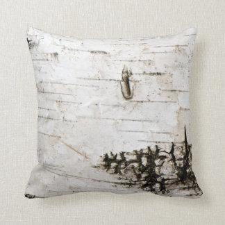 Birch bark 2330 throw pillow