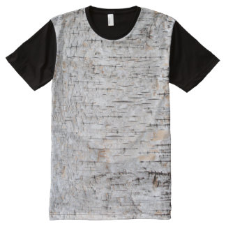 Birch Bark All-Over-Print T-Shirt