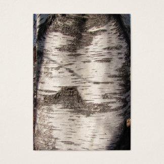 Birch Bark ~ ATC Business Card