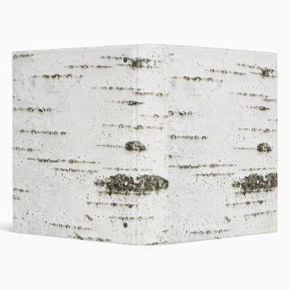 Birch bark binder