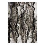 Birch bark business card template