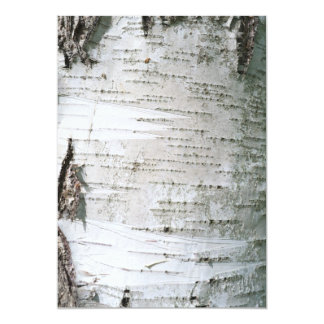 Birch bark card