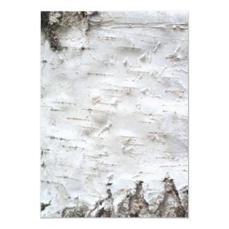 Birch bark card