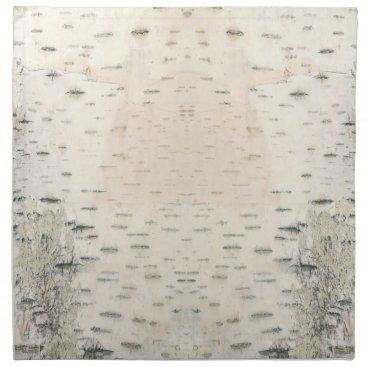 linda_mn Birch Bark Design Cloth Napkin