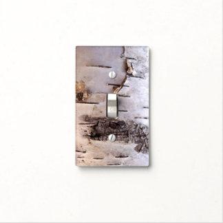 Birch Bark Light Switch Cover