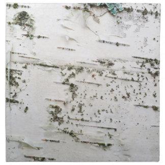 Birch bark napkin