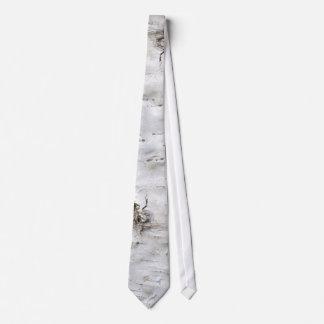 Birch bark neck tie