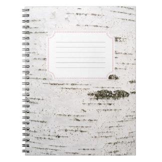 Birch bark notebooks