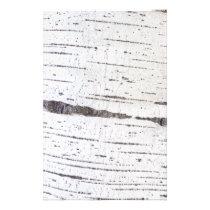 Birch bark pattern flyer