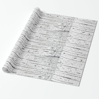 Birch bark pattern wrapping paper