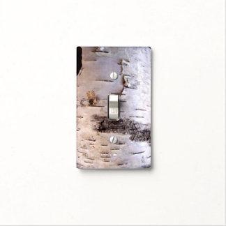 Birch Bark Single Light Switch Cover