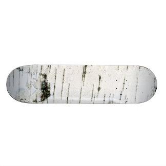 Birch bark skateboard