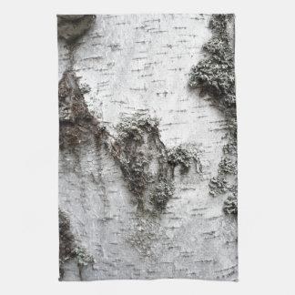 Birch bark towel