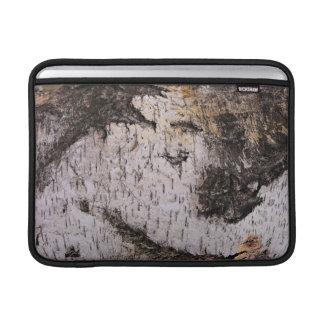 Birch Bark - wood texture nature photo MacBook Air Sleeve