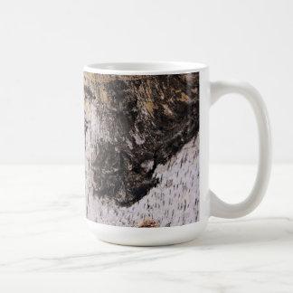 Birch Bark - wood texture nature photo Mugs