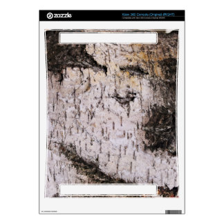 Birch Bark - wood texture nature photo Skins For The Xbox 360