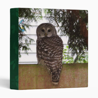 Birch Bay Owl Binder
