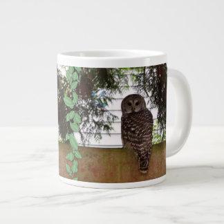 Birch Bay Owl Giant Coffee Mug