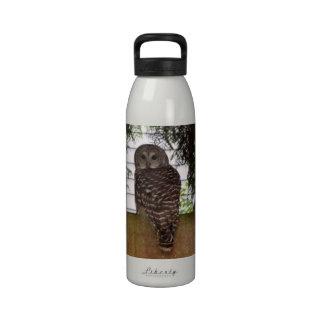 Birch Bay Owl Water Bottle