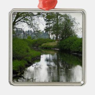 Birch Bay State Park Metal Ornament