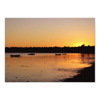 Birch Bay Sunset Card