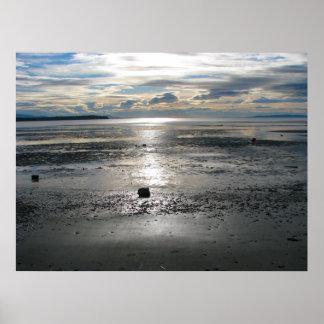 Birch Bay Tide Flats Poster