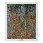 Birch By Klimt Gustav Print