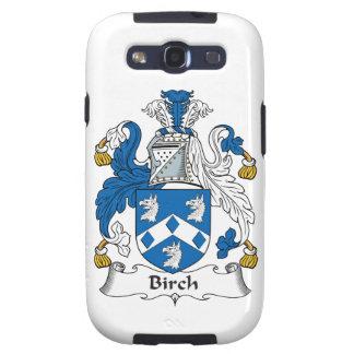 Birch Family Crest Galaxy S3 Case