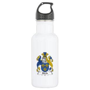 Birch Family Crest Stainless Steel Water Bottle