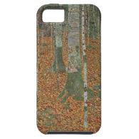 Birch Forest by Gustav Klimt, Vintage Art Nouveau iPhone 5 Case