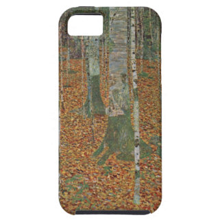 Birch Forest by Gustav Klimt, Vintage Art Nouveau iPhone SE/5/5s Case