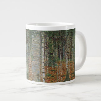 Birch Forest by Gustav Klimt, Vintage Art Nouveau Large Coffee Mug