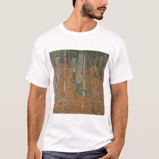 Birch Forest by Gustav Klimt, Vintage Art Nouveau T-Shirt