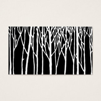 Birch Forest by Leslie Peppers Business Card