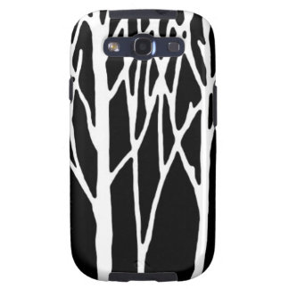 Birch Forest by Leslie Peppers Samsung Galaxy S3 Cover
