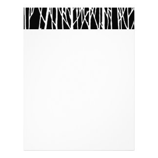 Birch Forest by Leslie Peppers Letterhead